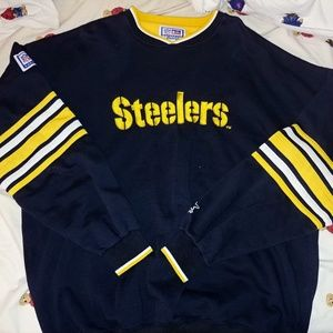 Vintage Starter Steelers Sweater Mens size XL